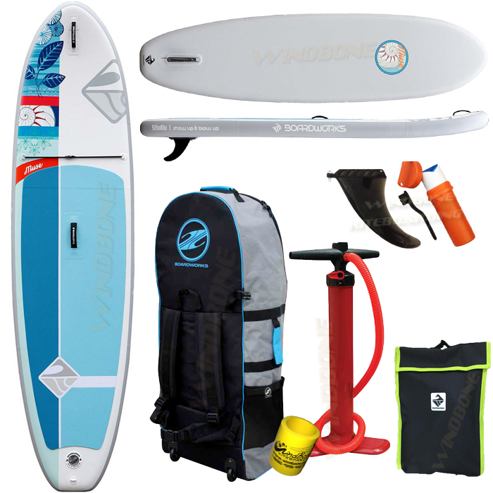 2018 Boardworks Muse Inflatable SUP Package Bundle