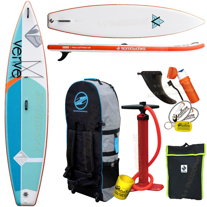 2019 Boardworks Verve Inflatable SUP Package Bundle