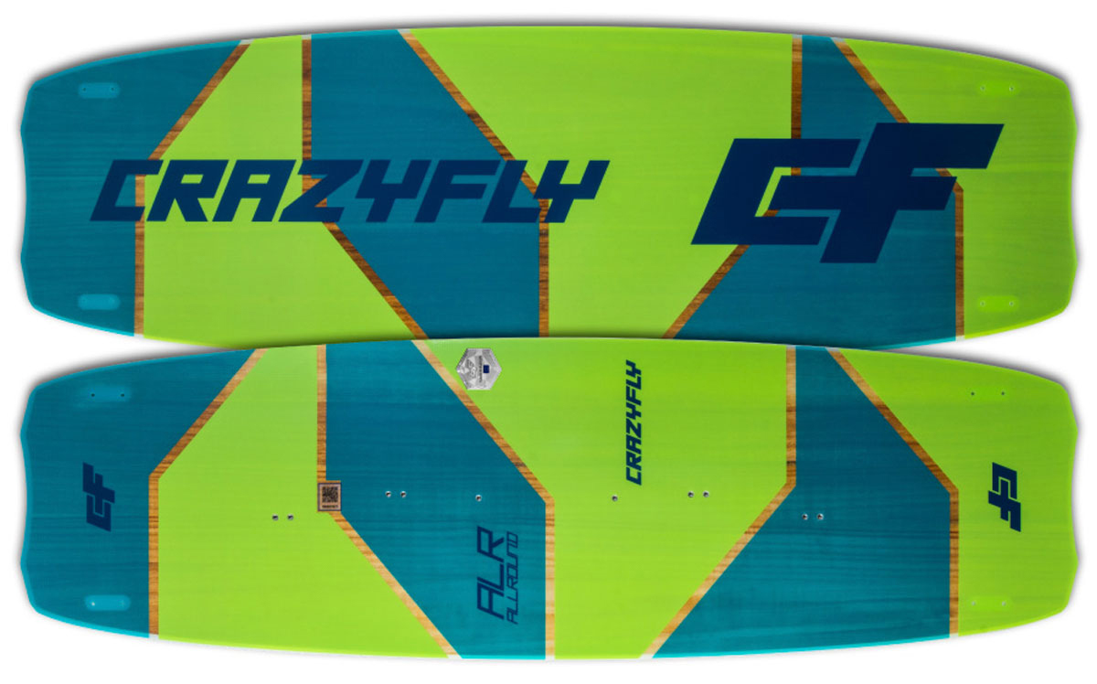 2018 Crazyfly Allround Kiteboard Colors