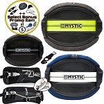 Mystic Majestic Hard Shell Harness Flex Kitesurfing Kite Waist Harness 18-19 + Bonus