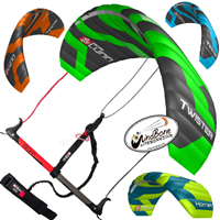 4-Line Control Bar Trainer Kites