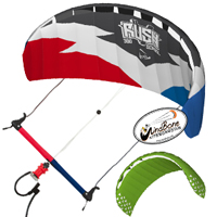 De-Power Sheetable Trainer Kites