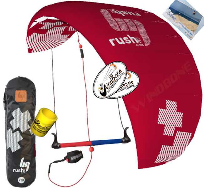HQ4 Rush Pro 250 Accessory Package