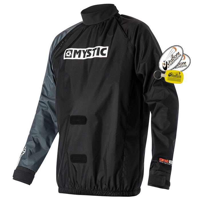 Mystic_Windstopper_Kite_WindBreaker_Black_Front