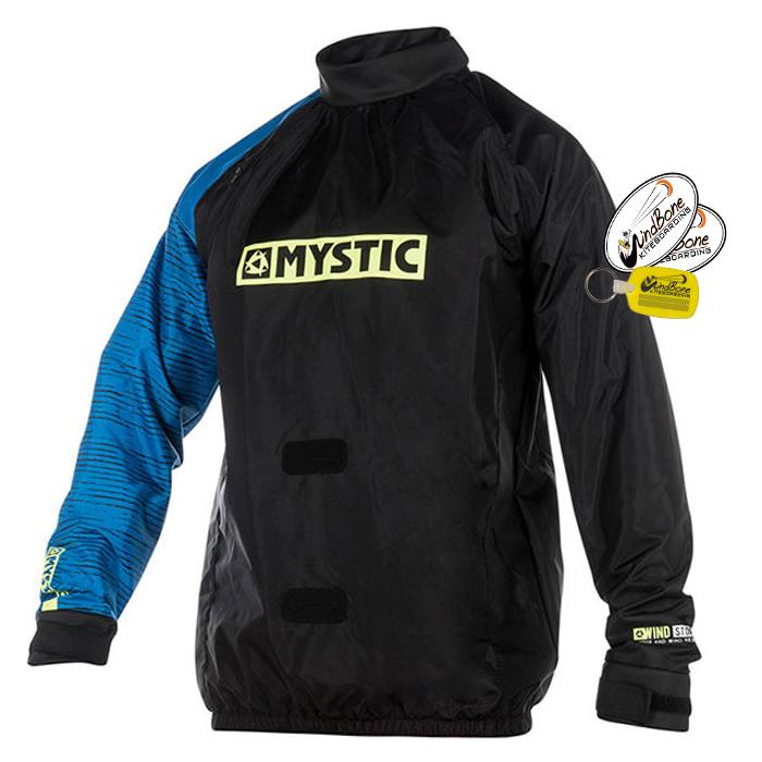 Mystic Flaka Smock Kite Windbreaker PullOver Jacket Kiteboarding Kitesurfing