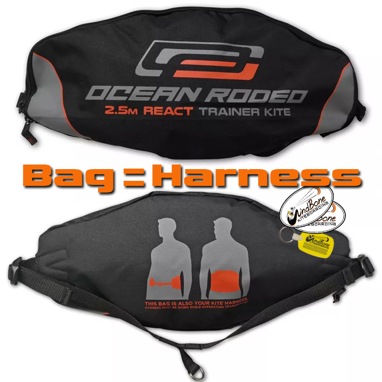 Ocean Rodeo React 2 5m Inflatable Depower Trainer Kite
