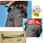 Peter Lynn Base Harness w Spreader Hook - Adjustable Budget Friendly Kite Seat Harness