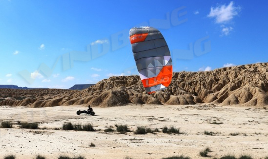 Peter Lynn UNIQ TR Kite Buggy Action