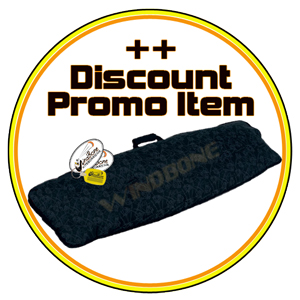 2018 CrazyFly Alround Promo Board Bag Item