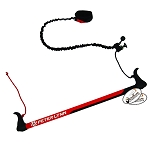 Peter Lynn 2-Line Trainer Kite Control Bar Accessory w Kite Killer Safety Leash