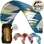 Peter Lynn Leopard V3 Performance De-Power Foil Snow Kite Snowkiting + Bonus