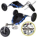 Peter Lynn Drifter Stainless Steel Kite Buggy + Bonus
