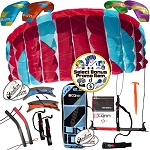 Peter Lynn UNIQ Quad Single Skin Power Foil Kite + Bonus