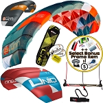 Peter Lynn Uniq TR 3-Line Single Skin Foil Power Trainer Kite + Bonus