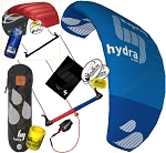 HQ HQ4 Hydra 420 4.2M 3-Line Water Relaunchable Trainer Kite + Bonus