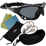Seaspecs Classic Watersport Extreme Sport Sunglasses + Case and Wipes