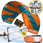 Peter Lynn Skim 2.8 M 3-Line Water Relaunchable Trainer Kite + Bonus