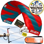 Peter Lynn Skim 4.0 4M 3-Line Water Relaunchable Trainer Kite + Bonus