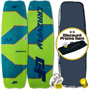 2018 Crazyfly Allround Kiteboard Twintip + Promo (Closeout)