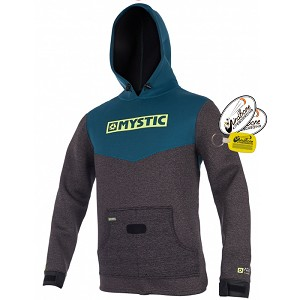 Mystic Voltage Sweat Kite Hoodie Wind Jacket Wetsuit Pullover Teal